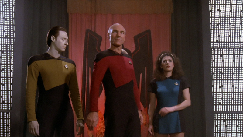 Encounter at Farpoint, part 1